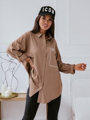 Dłuższa koszula oversize