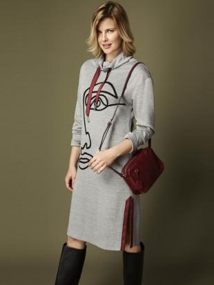 Sukienka dzianinowa 09-275 SALKO