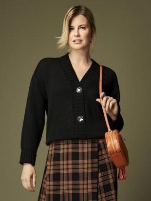 Sweter rozpinany 92-295 SALKO